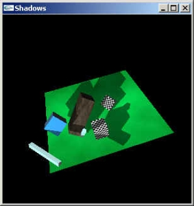 real-time dynamic shadows screen shot